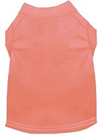 Plain Pet Shirts Peach XS