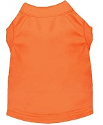Plain Shirts Orange XS