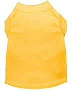 Plain Shirts Yellow XS