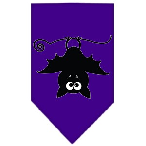 Batsy the Bat Screen Print Bandana Purple Small