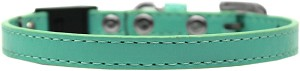 Plain Breakaway Cat Collar Aqua Size 10