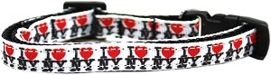 I Heart NY Ribbon Cat Safety Collar