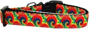 Tie Dye Dog Collar Large