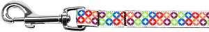 Bright Diamonds Nylon Ribbon Pet Leash 5/8 inch wide 4Ft Lsh