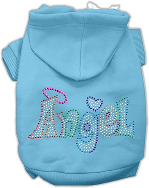 Technicolor Angel Rhinestone Pet Hoodie Baby Blue Sm (10)