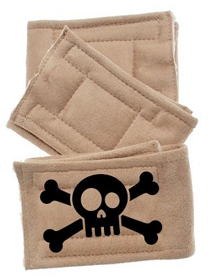 Peter Pads Tan Size SM Skull 3 Pack