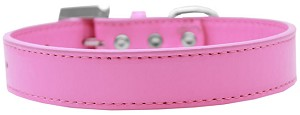 Lincoln Plain Dog Collar Bright Pink Size 18