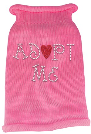 Adopt Me Rhinestone Knit Pet Sweater LG Pink