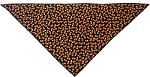 Candy Corn Tie-On Pet Bandana Size Small