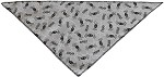 Spiders Tie-On Pet Bandana Size Small