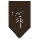 London Rhinestone Bandana Cocoa Small