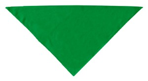 Plain Bandana Emerald Green Small