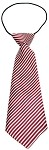 Big Dog Neck Tie Candy Cane Stripes