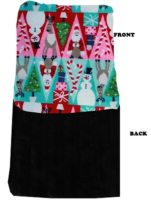 Luxurious Plush Carrier Blanket Christmas Medley
