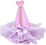 Pretty Party Hat Clip-on Lavender