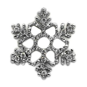 Holiday 10mm Slider Charms Snowflake