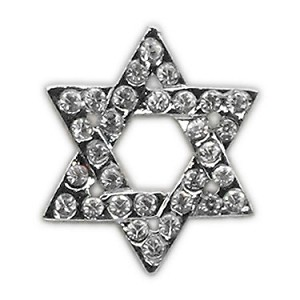 Holiday 10mm Slider Charms Star of David