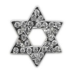 Holiday 10mm Slider Charms Star of David .