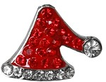 Santa Hat 10mm Slider Charm