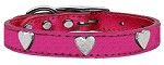 Metallic Heart Leather Pink MTL 20