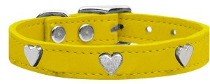 Heart Leather Yellow 22