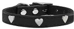Heart Leather Black 10