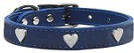 Heart Leather Blue 10