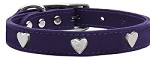 Heart Leather Purple 10