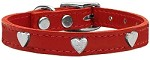 Heart Leather Red 10