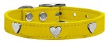 Heart Leather Yellow 10