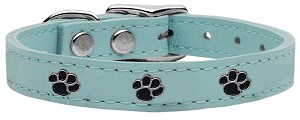 Paw Leather Baby Blue 26