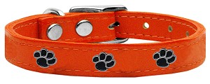 Paw Leather Orange 10