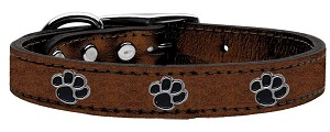 Metallic Paw Leather Bronze 18