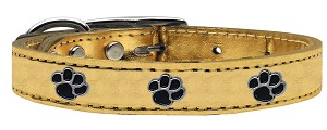 Metallic Paw Leather Gold 20