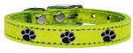 Metallic Paw Leather Lime Green MTL 20