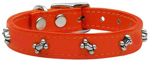 Bone Leather Orange 16