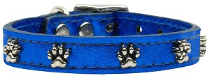 Metallic Paw Leather BlueMTL 16