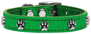 Metallic Paw Leather  Emerald Green MTL 22