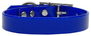 Plain Tropical Jelly Collars Blue Sm