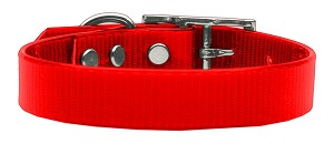 Plain Tropical Jelly Collars Red Med