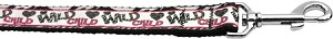 Wild Child 1 inch wide 6ft long Leash