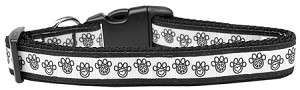 Peace Paw Nylon Dog Collar Large