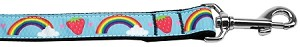 Rainbows and Berries Nylon Dog Leash 6 Foot