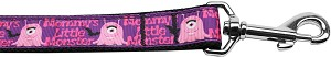 Mommy's Little Monster Nylon Dog Leash 6 Foot
