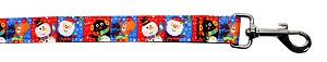 Christmas Buddies Nylon Pet Leash 1in by 6ft