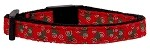 Christmas Trees Nylon and Ribbon Collars Cat Safety