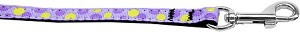 Confetti Dots Nylon Collar Lavender 3/8 wide 4ft Lsh