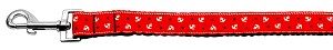 Anchors Nylon Ribbon Leash Red 1 inch wide 4ft Long