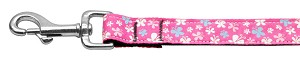 Butterfly Nylon Ribbon Collar Pink 1 wide 6ft Lsh