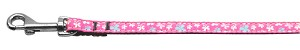 Butterfly Nylon Ribbon Collar Pink 3/8 wide 4Ft Lsh